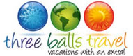 Three Balls Travel